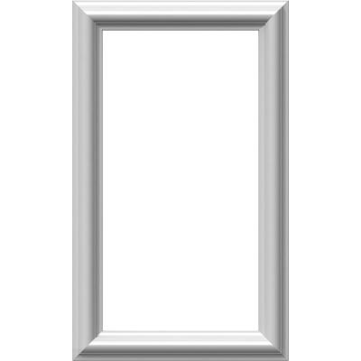 12 in. W x 20 in. H x 1/2 in. P Ashford Molded Classic Wainscot Wall Panel