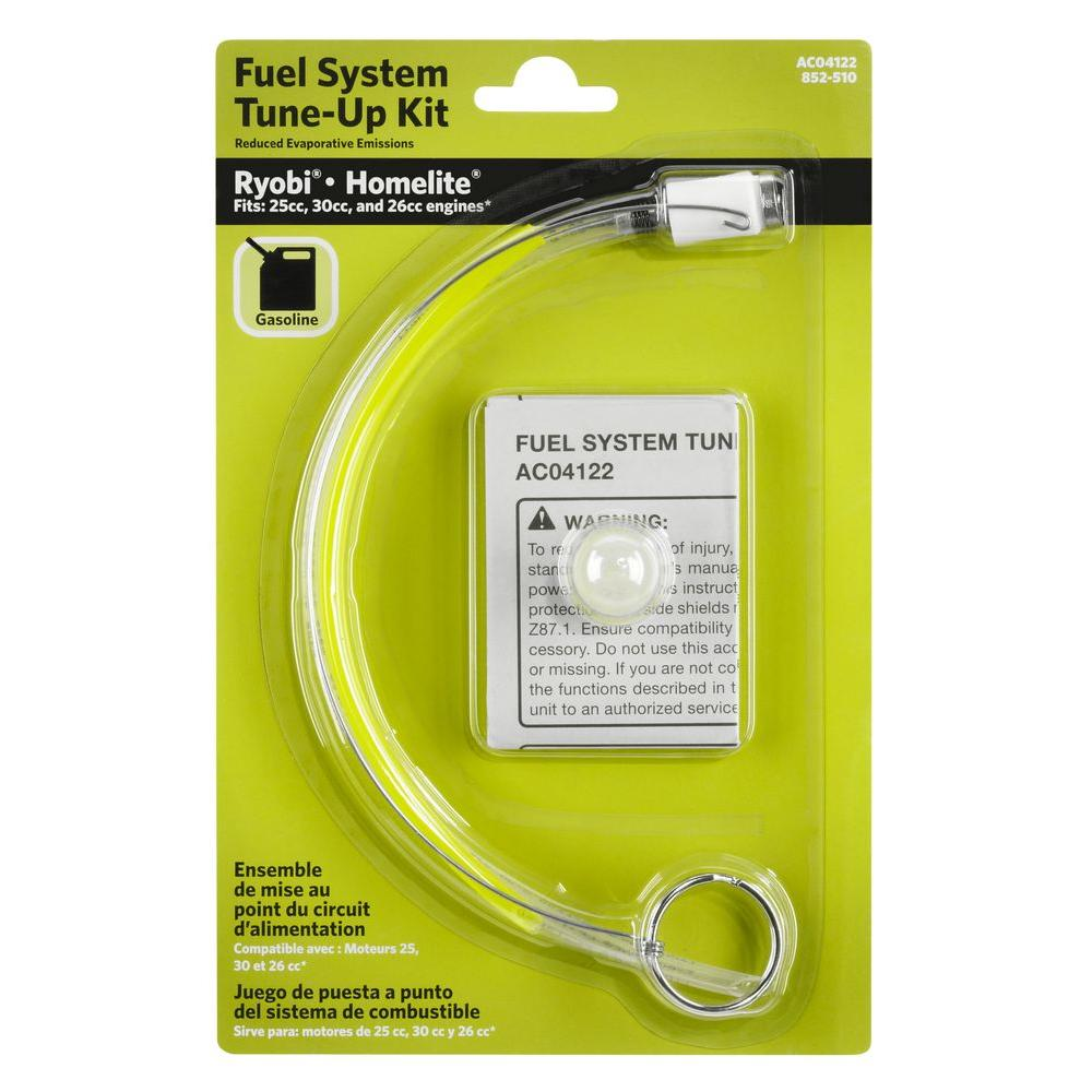Ryobi Fuel Line And Primer Bulb Tune Up Kit Ac04122 The Home Depot Rv Filter
