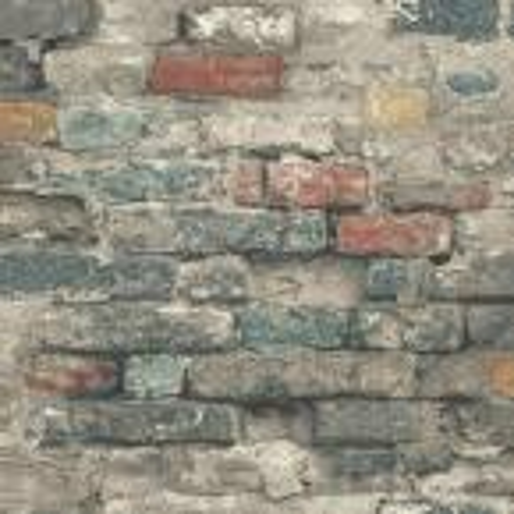 Brick Alley Vinyl Peelable Wallpaper (Covers 28.18 sq. ft.)