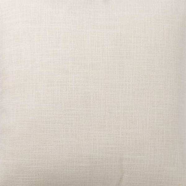 The Company Store Concord Ivory Throw Pillow Cover, 16 in. Square