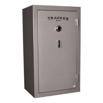 30-Gun Fire-Resistant Combination Gun Safe, Gray