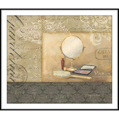 9.75 in. x 11.75 in. ''Bath and Beauty I'' Framed Wall Art
