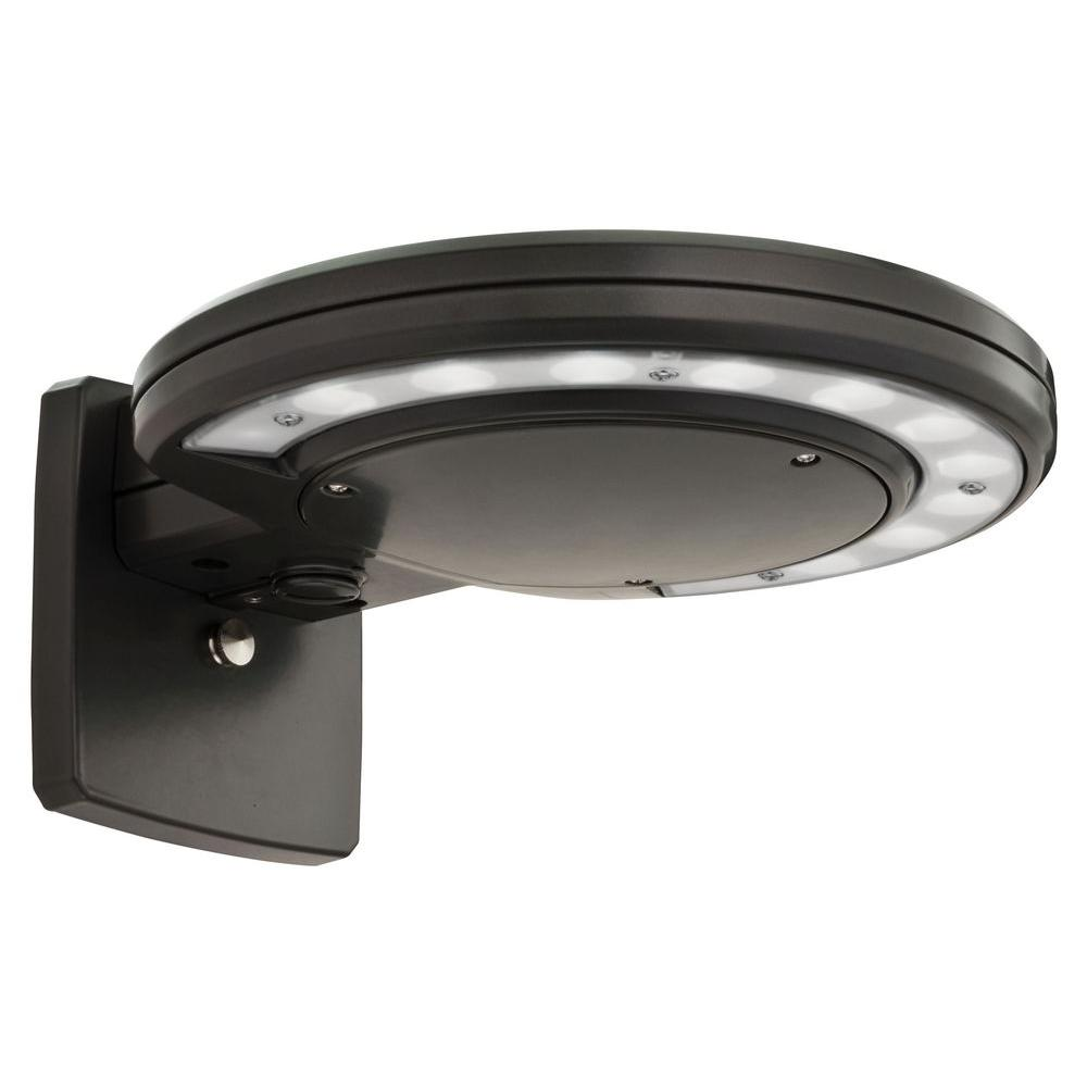 Lithonia lighting bronze outdoor integrated led 5000k wall mount lithonia lighting bronze outdoor integrated led 5000k wall mount area light with dusk to dawn photocell aloadofball Image collections