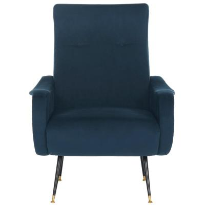 Elicia Navy Accent Chair