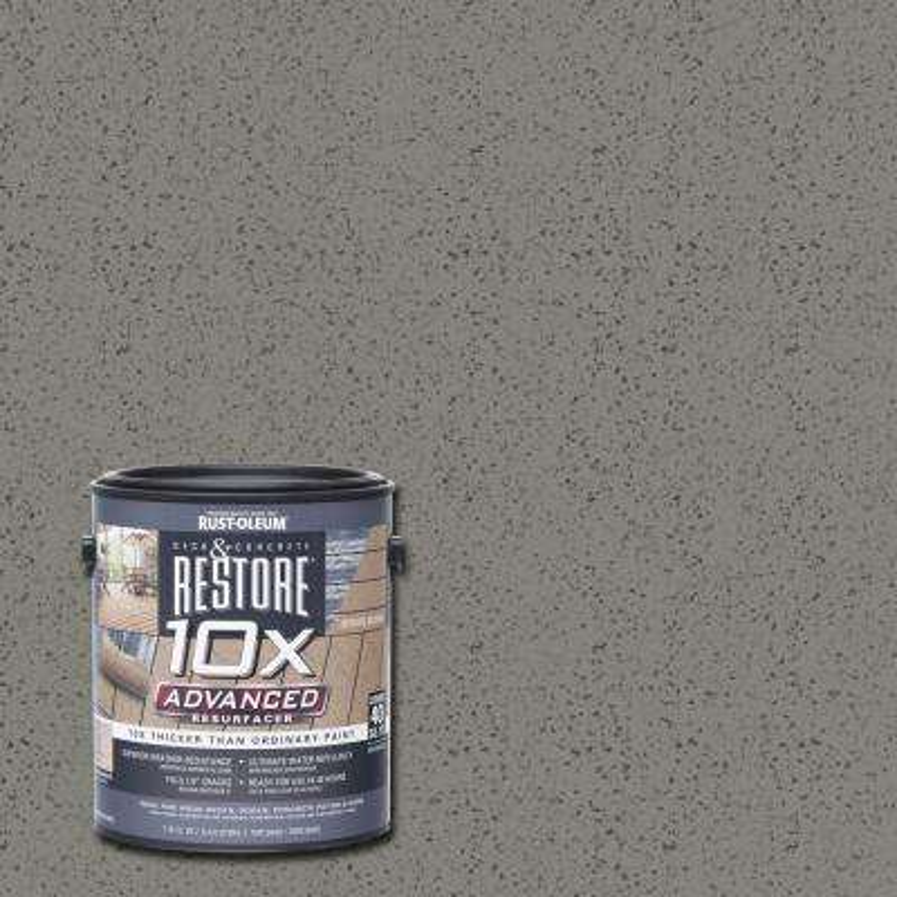 1 gal. 10X Advanced Bedrock Deck and Concrete Resurfacer