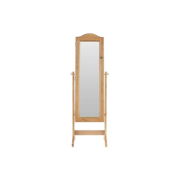 StyleWell Patina Jewelry Mirror with Hinged Door (18 in W. X 59 in H.)
