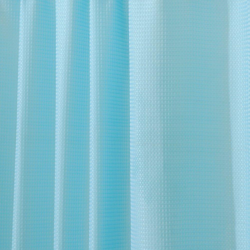 interDesign Carlton Shower Curtain in Aqua