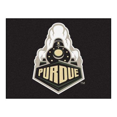 Purdue University 3 ft. x 4 ft. All-Star Rug