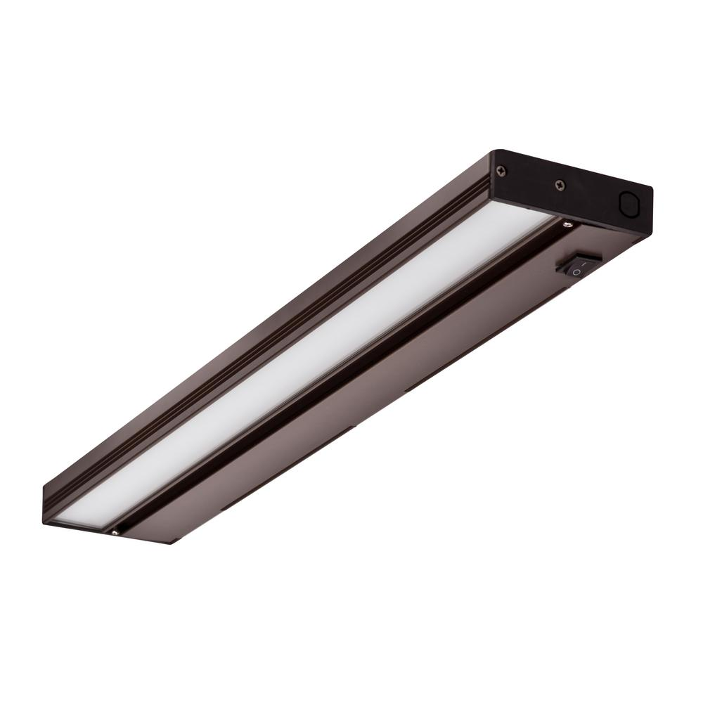 NUC 21 in. LED Oil-Rubbed Bronze Dimmable Under Cabinet Light with