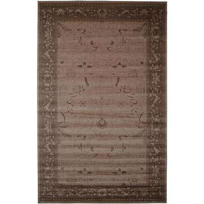 La Jolla Brown 10 ft. 6 in. x 16 ft. 5 in. Area Rug