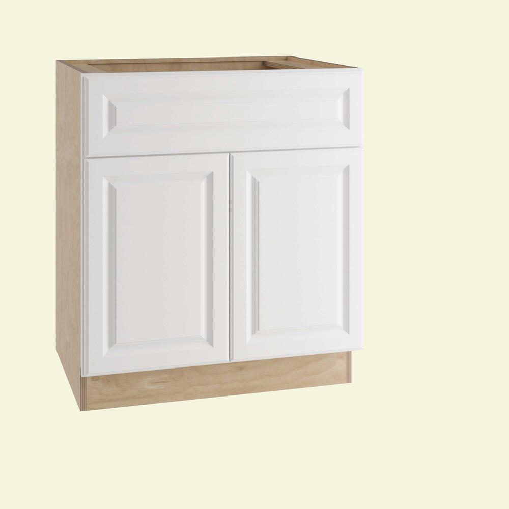 Kitchen Sink Cabinets Home Depot: Home Decorators Collection Hallmark Assembled 27x34.5x21