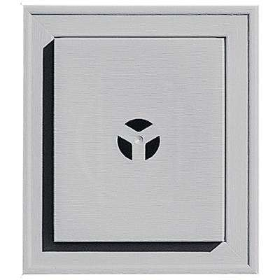 7 in. x 8 in. # 016 Gray Square Universal Mounting Block