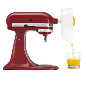 White Citrus Juicer Attachment for KitchenAid Stand Mixer