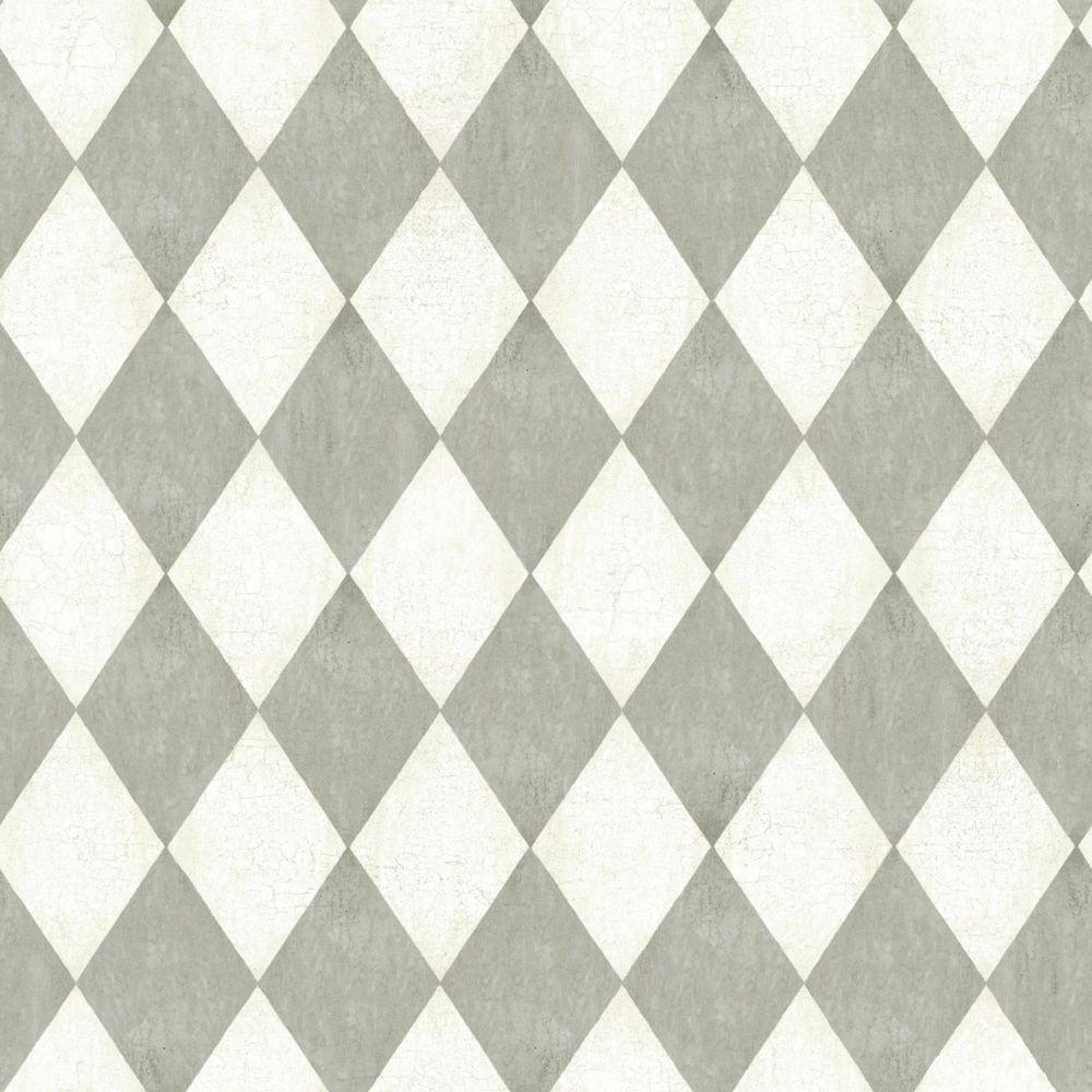 York Wallcoverings American Classics Old World Harlequin Wallpaper