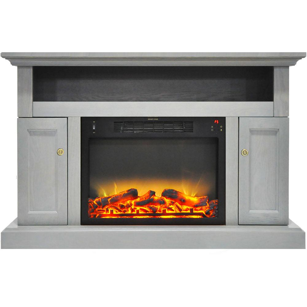 Kingsford 47 in. Electric Fireplace with an Enhanced Log Display and
