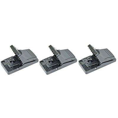 Easy Set Mouse Control Rat Snap Trap (3-Pack)