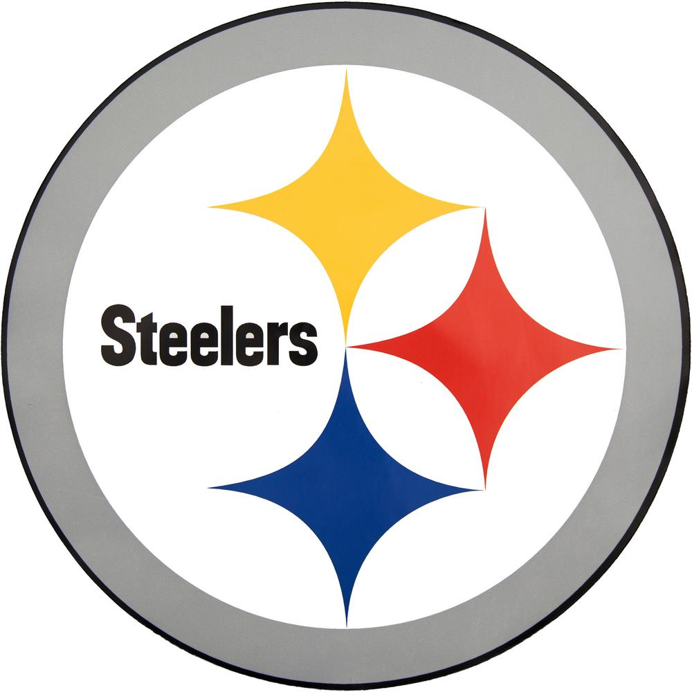 Applied Icon NFL Pittsburgh Steelers Outdoor Logo Graphic- Large-NFOP2603 -  The Home Depot 47873b2ec