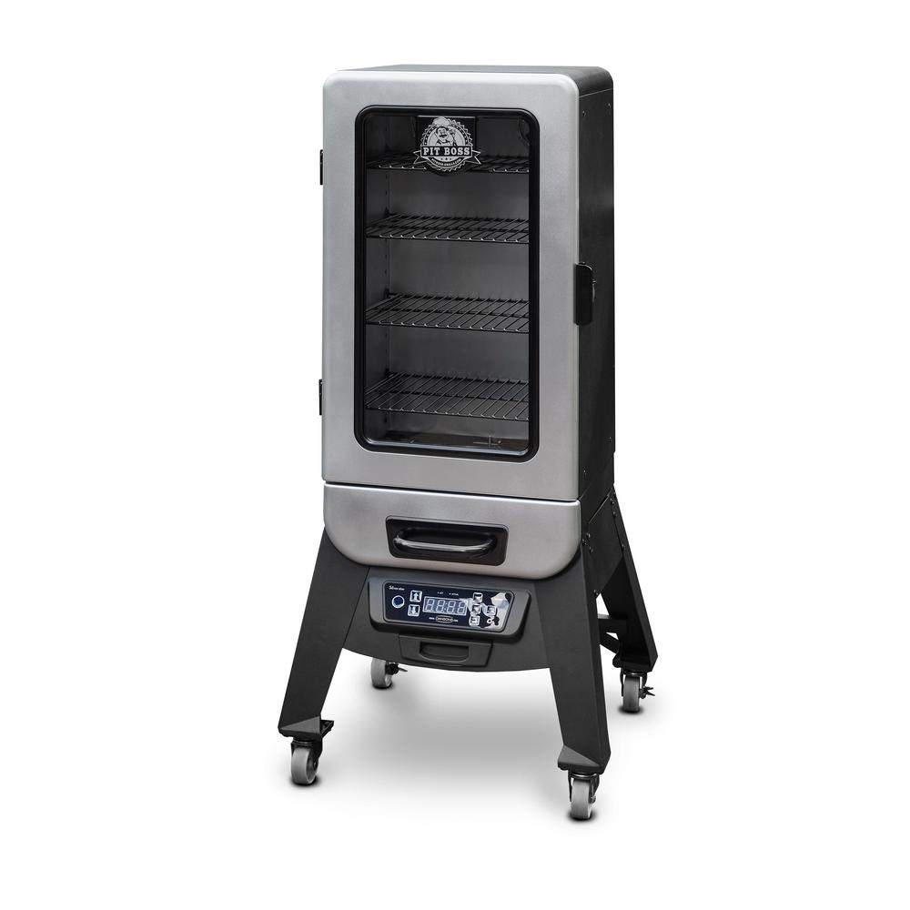 Programmable Digital Electric Smoker With Window