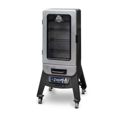 3.2 cu. ft. Programmable Digital Electric Smoker with Window