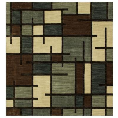 Fairfield Beige 8 ft. x 8 ft. Square Area Rug