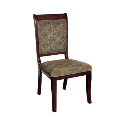 Benjara St. Nicholas I Traditional Antique Cherry Wooden Side Chair (Set of 2)