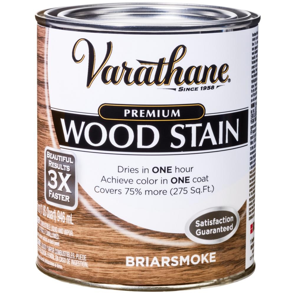Varathane 1 qt. Briarsmoke Premium Fast Dry Interior Wood Stain