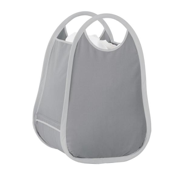 Neatfreak Pop Up Laundry Hamper Tote Basket In Grey 05644mix201 006 The Home Depot