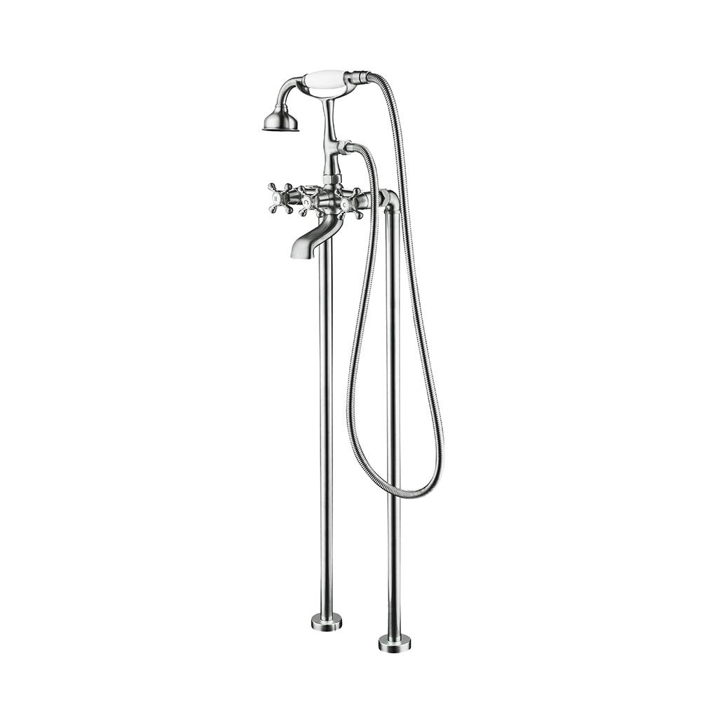 Jade Bath Century II 2-Handle Claw Foot Freestanding Tub Faucet with ...