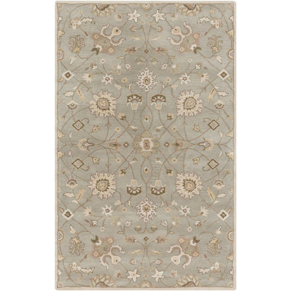 Albi Light Gray 12 ft. x 15 ft. Indoor Area Rug