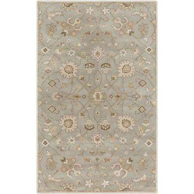 Albi Light Gray 5 ft. x 8 ft. Indoor Area Rug