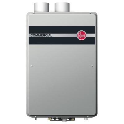 Commercial 9.5 GPM Natural Gas High Efficiency Indoor Tankless Water Heater
