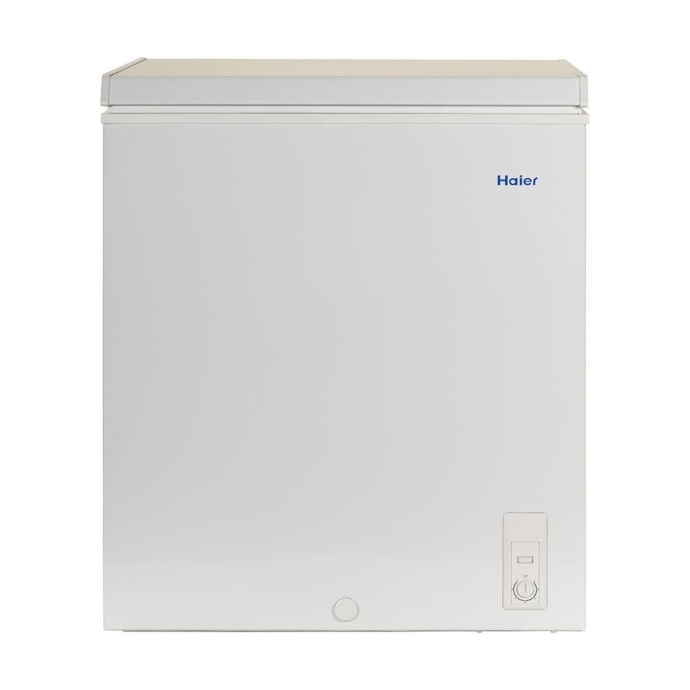 Haier 5.0 cu. ft. Chest Freezer in White