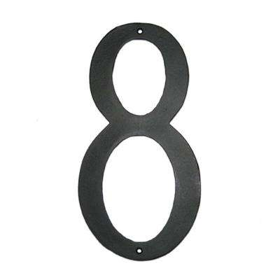 12 in. Standard House Number 8