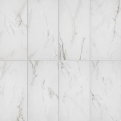 Michelangelo White 9 in. x 18 in. Ceramic Wall Tile (218 sq. ft./pack)