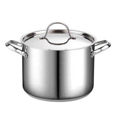 Classic 8 qt. Stainless Steel Stock Pot with Lid