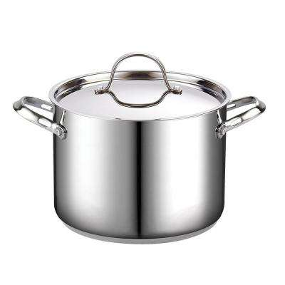 8 Qt. Stainless Steel Stock Pot