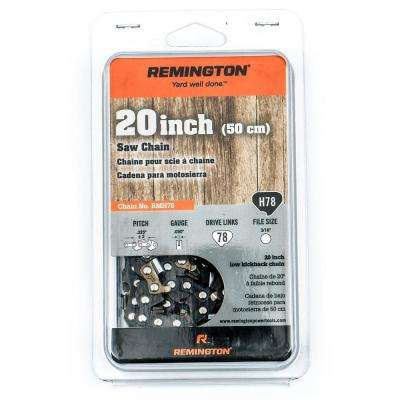 H78 20 in. Chainsaw Chain