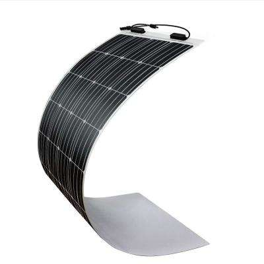 160-Watt 12-Volt Extremely Flexible Monocrystalline Solar Panel Ultra Lightweight