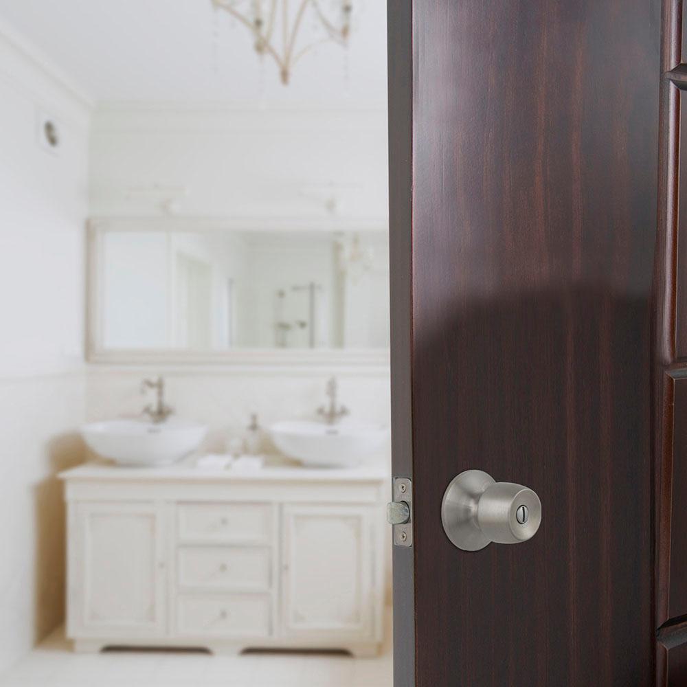 Brandywine Stainless Steel Bed and Bath Door Knob Contractor Pack (6-Piece)