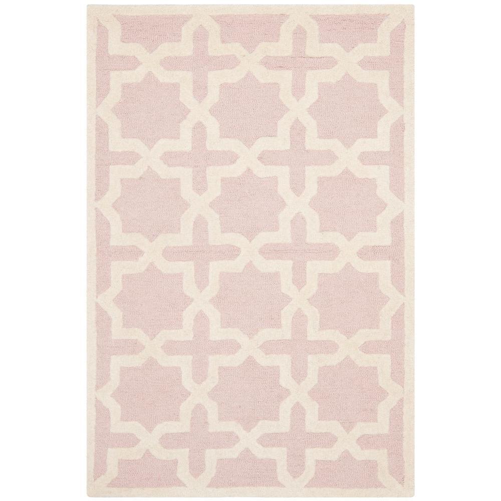 Safavieh Cambridge Light Pink/Ivory 2 Ft. X 3 Ft. Area Rug