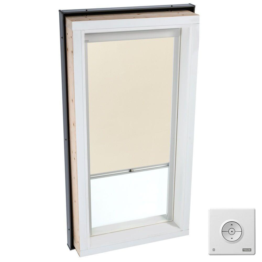 VELUX Beige Solar Powered Blackout Skylight Blind for FCM/QPF/VCM/VCS 2222 Models