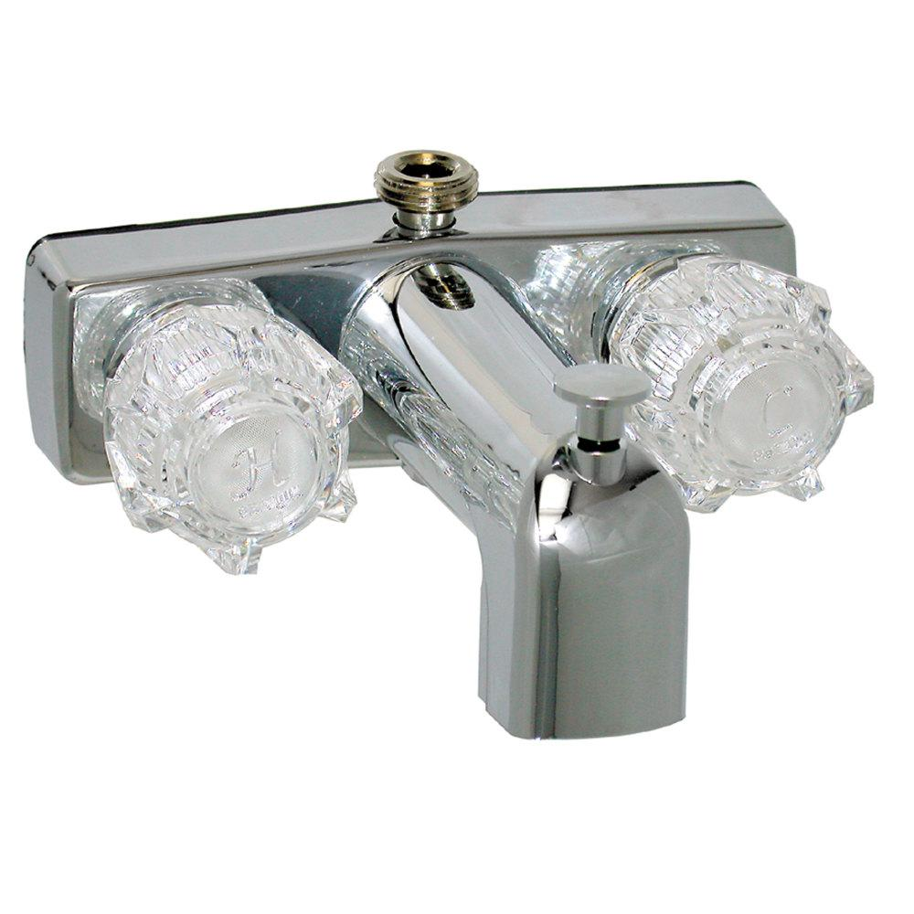mobile home rv shower faucet 2 handle