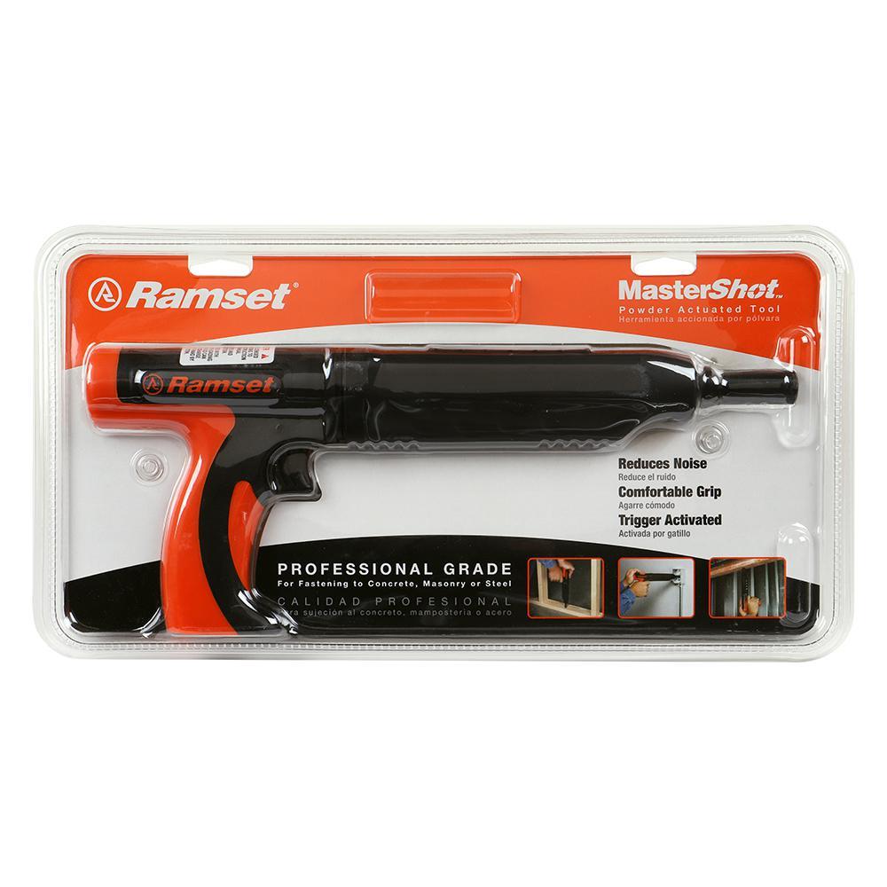 Ramset MasterShot 0.22 Caliber Powder Actuated Tool-40088 - The Home Depot