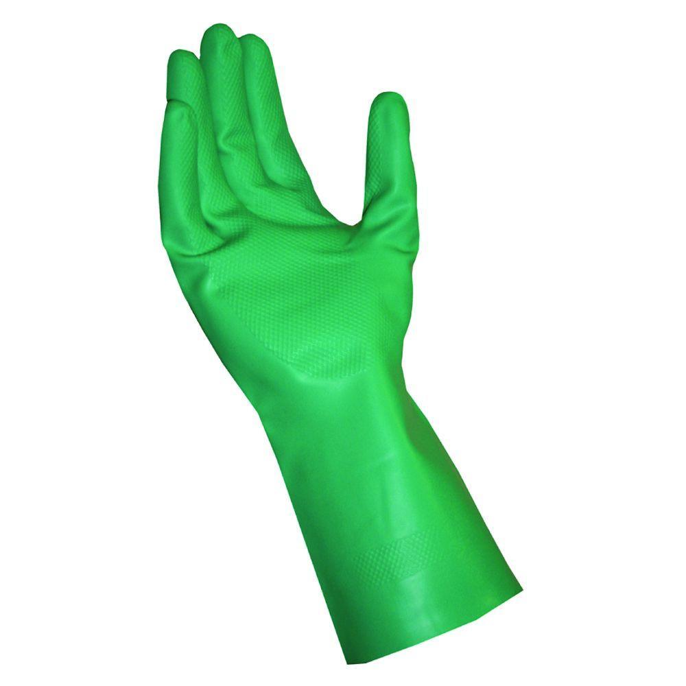 XX-Large Green Latex Free Nitrile Gloves