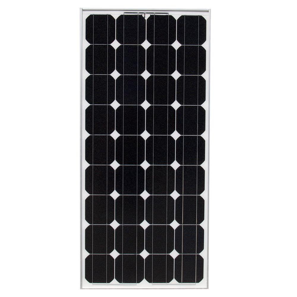 100-Watt 12-Volt Monocrystalline PV Solar Panel