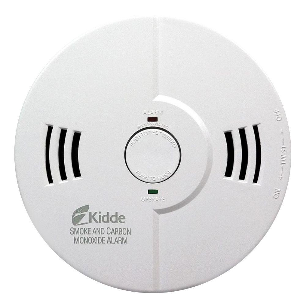Nighthawk Battery Combination Smoke/Carbon Monoxide Alarm Detector