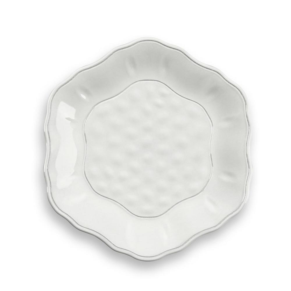 undefined Savino White Salad Plate (Set of 6)