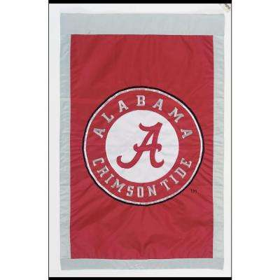 NCAA 28 in. x 44 in. Alabama 2-Sided Flag