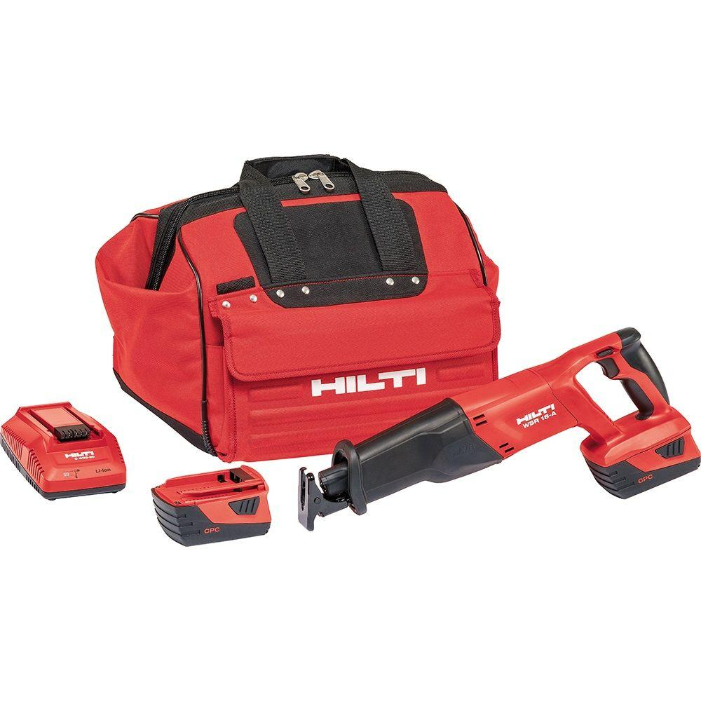 Hilti SR6 A 22-Volt Lithium-Ion Cordless Brushless Reciprocating Saw