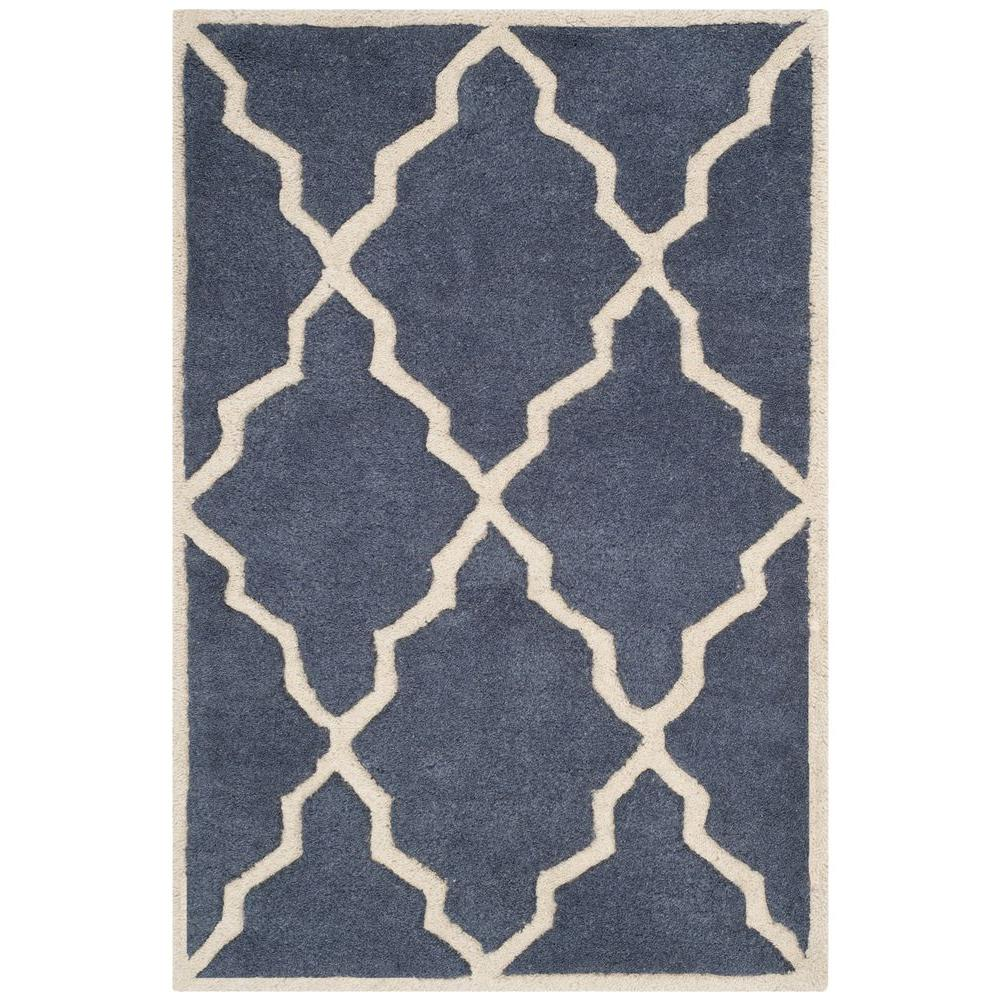 Chatham Grey 2 ft. x 3 ft. Area Rug